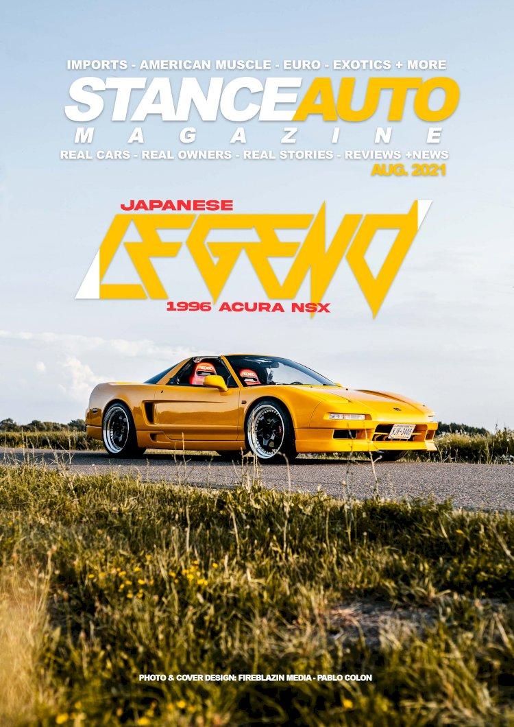 Stance Auto Printed Magazine August 2021