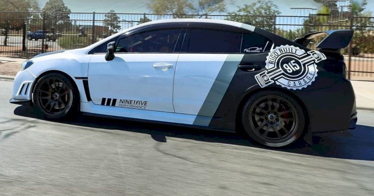 Jaime Carrasco  - 2015 Subaru WRX STi limited