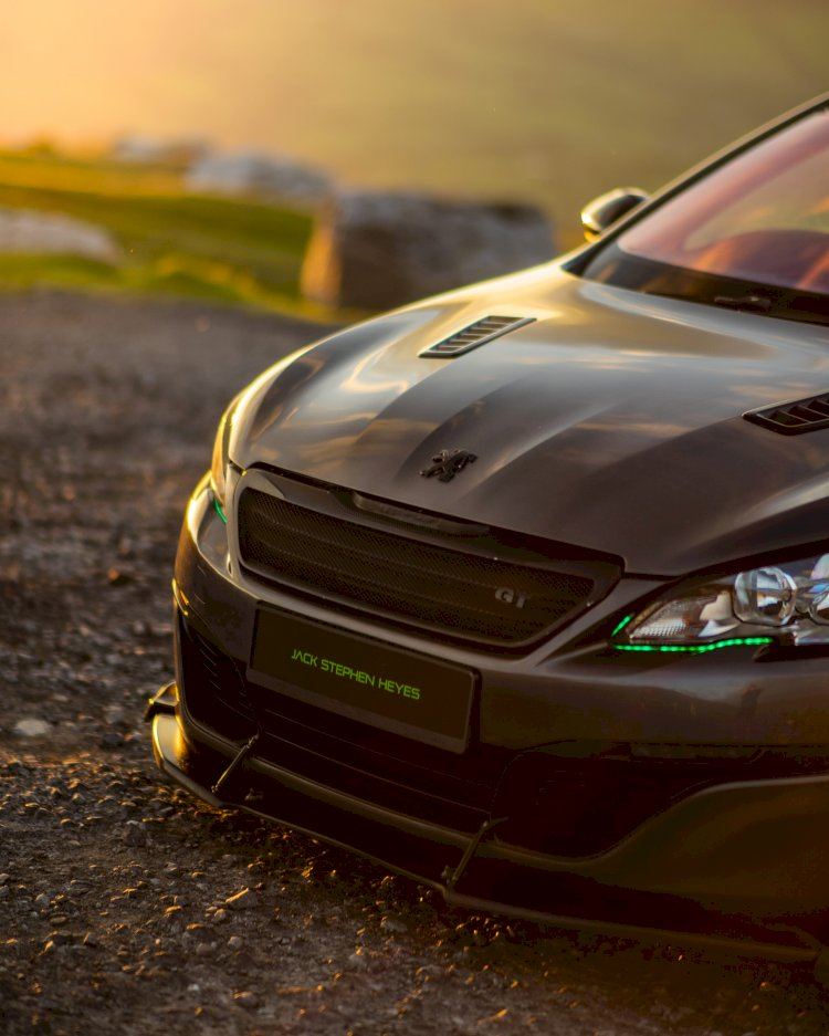 Jack Stephen Heyes  2016 Peugeot 308 GT 1.6 turbo