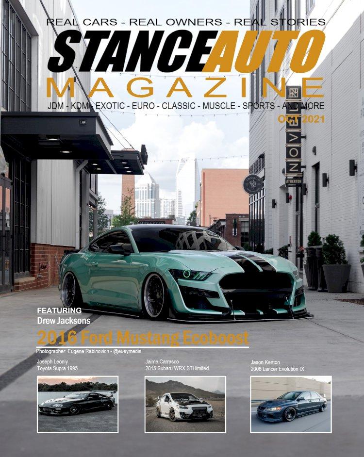 Stance Auto Magazine Printed Magazine October 2021 Edition