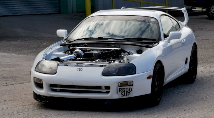 Lawrence Duckers  1998 Toyota Supra MK4 (Genuine TT 6 Speed)